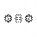 BeCharmed Pavé Swarovski 81961 mm. 13.5 Crystal Silver Night x1