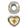 BeCharmed Pavé Swarovski 81951 mm. 14 Crystal Golden Shadow x1