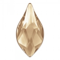 Cabochon da incollare Fiamma Swarovski 2205 mm.  7.5 Crystal Golden Shadow