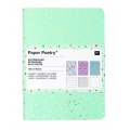 Set Paper Poetry bloc notes 105x140 mm Tropical Spring x3