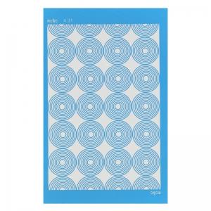 silk screen moiko 74x105 mm motif ann es 70 perles co. Black Bedroom Furniture Sets. Home Design Ideas
