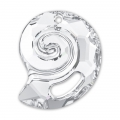 Pendente Sea Snail Swarovski 6731 mm.28 Crystal semi-mat
