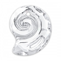Pendente Sea Snail Swarovski 6731 mm.14 Crystal semi-mat