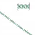 Catena maille ovale 2.3 mm Teal x1m