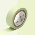 Masking Tape 15 mm Pastel Green x10m