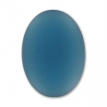 Cabochon Luna Soft 18x13mm Denim Blue x1