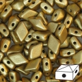 Diamonduo 2-hole mm.5x8 Gold Mat x10g