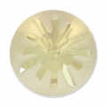 Cabochon Swarovski 1695 Sea Urchin 14mm Crystal Golden Shadow semi-mat