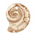 Pendente Sea Snail Swarovski 6731 mm.14 Crystal Golden Shadow semi-mat