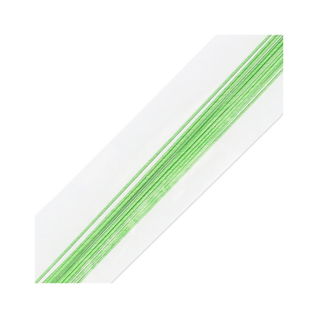 Set di 10 steli per fiori di carta 46 cm verde perles co for Libri per fioristi