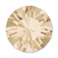 Cabochon Swarovski 1028 mm. 1.8 Crystal Golden Shadow x50