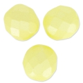 Sfaccettate mm 8 Pastel Yellow Pearl x20