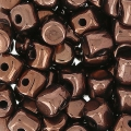 Minos® di Puca® 2.5x3 mm Dark Bronze x5g