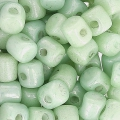 Minos® di Puca® 2.5x3 mm Opaque Light Green Ceramic Look x5g