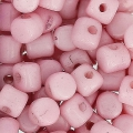 Minos® di Puca® 2.5x3 mm Opaque Light Rose Ceramic Look x5g