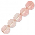 imitazione Strawberry Quartz  3 mm x25