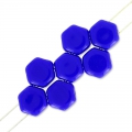 Honeycomb 6 mm Opaque Cobalt x20