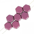 Honeycomb 6 mm Pastel Burgundy x20