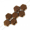 Honeycomb 6 mm Dark Bronze x20