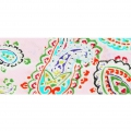 Sbieco mm.25 Paisley Rosa x 1m