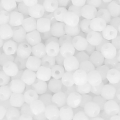 Sfaccettate 2mm (True 2) Opaque White x50
