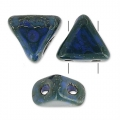 Khéops® by Puca® 6mm Opaque Dark Sapphire Travertin x10g