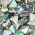 Khéops® by Puca® 6mm Crystal Silver Rainbow x10g