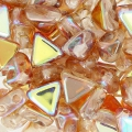 Khéops® par Puca® 6 mm Crystal Brown Rainbow x10g