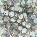 Perle mm. 4 Crystal Silver Rainbow x50