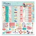 Assortimento cardstock e stickers Julie Nutting 30.5x30.5 cm Nautical Bliss
