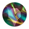 Cabochon Swarovski 1088 mm. 6 Crystal Rainbow Dark x1