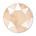 Cabochon Swarovski 1088 8 mm Crystal Ivory Cream x1