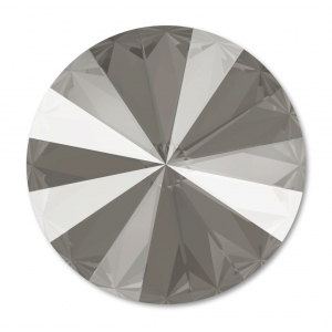Cabochon Swarovski 1122 Rivoli mm. 12 Crystal Dark Grey x1