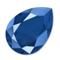 Cabochon Swarovski 4320 pera mm. 14x10 Crystal  Royal Blue x1