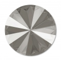 Cabochon Swarovski 1122 Rivoli mm. 14 Crystal Dark Grey x1