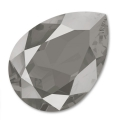 Cabochon Swarovski 4320 pera mm. 18x13 Crystal Dark Grey x1