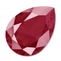 Cabochon Swarovski 4320 pera mm. 18x13 Crystal Dark Red x1