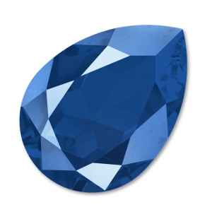 Cabochon Swarovski 4320 pera mm. 18x13 Crystal Royal Blue x1