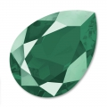 Cabochon Swarovski 4320 pera mm. 18x13 Crystal Royal Green x1