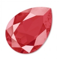 Cabochon Swarovski 4320 pera mm. 18x13 Crystal Royal Red x1