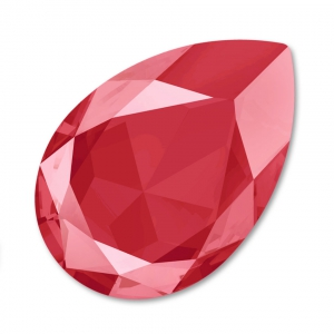 Cabochon Swarovski 4327 pera mm. 30x20 Crystal Royal Red x1
