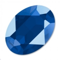 Cabochon Swarovski 4120 ovale mm. 18x13 Crystal Royal Blue x1