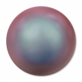 Cabochon Swarovski 5817 mm. 6 Crystal Iridescent Red Pearl