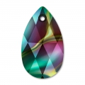 Lacrima Swarovski 6106 mm. 22 Crystal Rainbow Dark x1