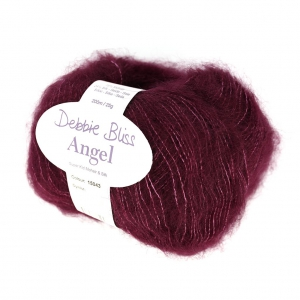 Lana Debbie Bliss Angel Bordeaux (coloris 43) x25g
