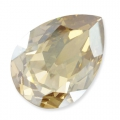 Cabochon Swarovski 4320 pera mm. 10x7 Crystal Golden Shadow