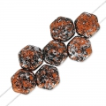 Honeycomb 6 mm Tweedy Copper x20