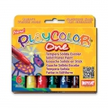 Set di 6 sticks di tempera solida Playcolor One Basic