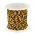 Parachute Cord 1 mm Yellow/Multicolore x10m
