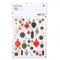 Stickers Paper Poetry Puristic Christmas Deco di Natale 20 fantasie x194